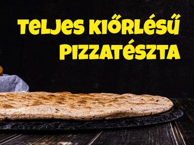 low-carb teljes kiőrlésű pizzatészta Budapest