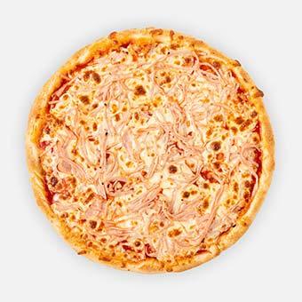 Sonkás pizza (32 cm) - paradicsom alap, sonka, sajt - www.pizzarello.hu