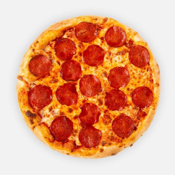 Nyisd a csőröd! Pizza (32 cm) - paradicsomos alap, paprikás vastagkolbász, sajt - www.pizzarello.hu